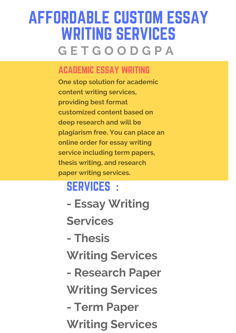 10 % discount on essay writing services –GetGoodGPA