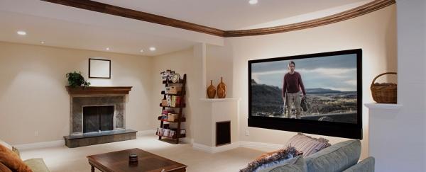 Ceiling TV Installation in Addison, TX