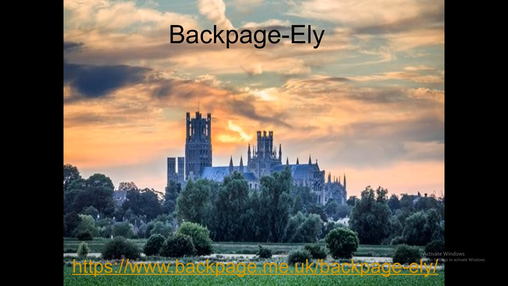 Backpage Ely