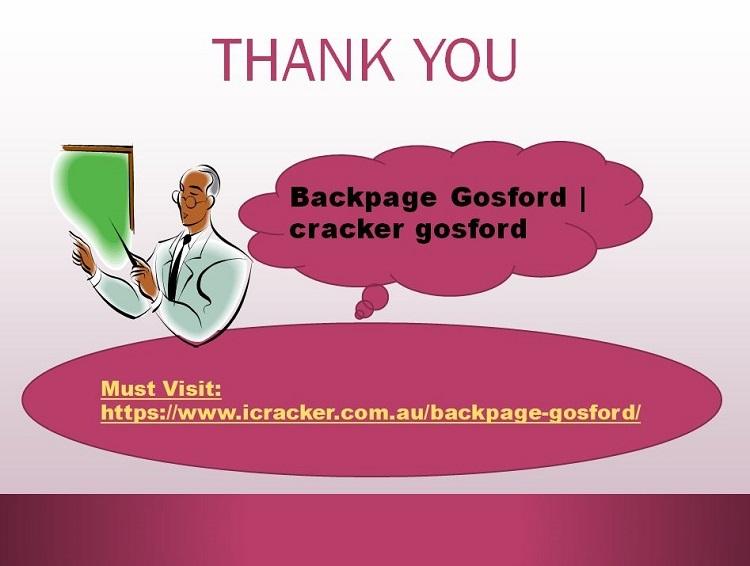 Backpage Gosford || cracker gosford