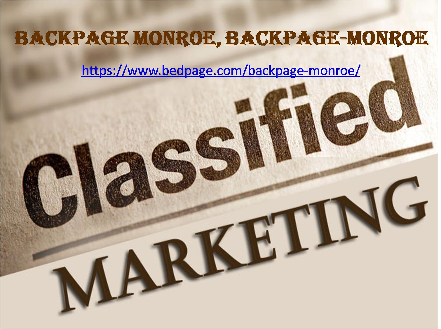backpage Monroe | backpage-monroe