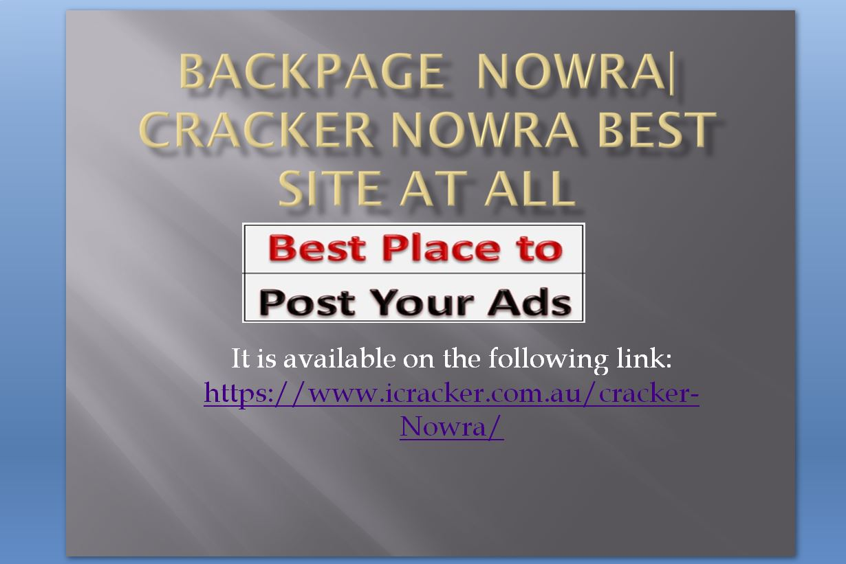 Backpage  Nowra| cracker-Nowra best site at all