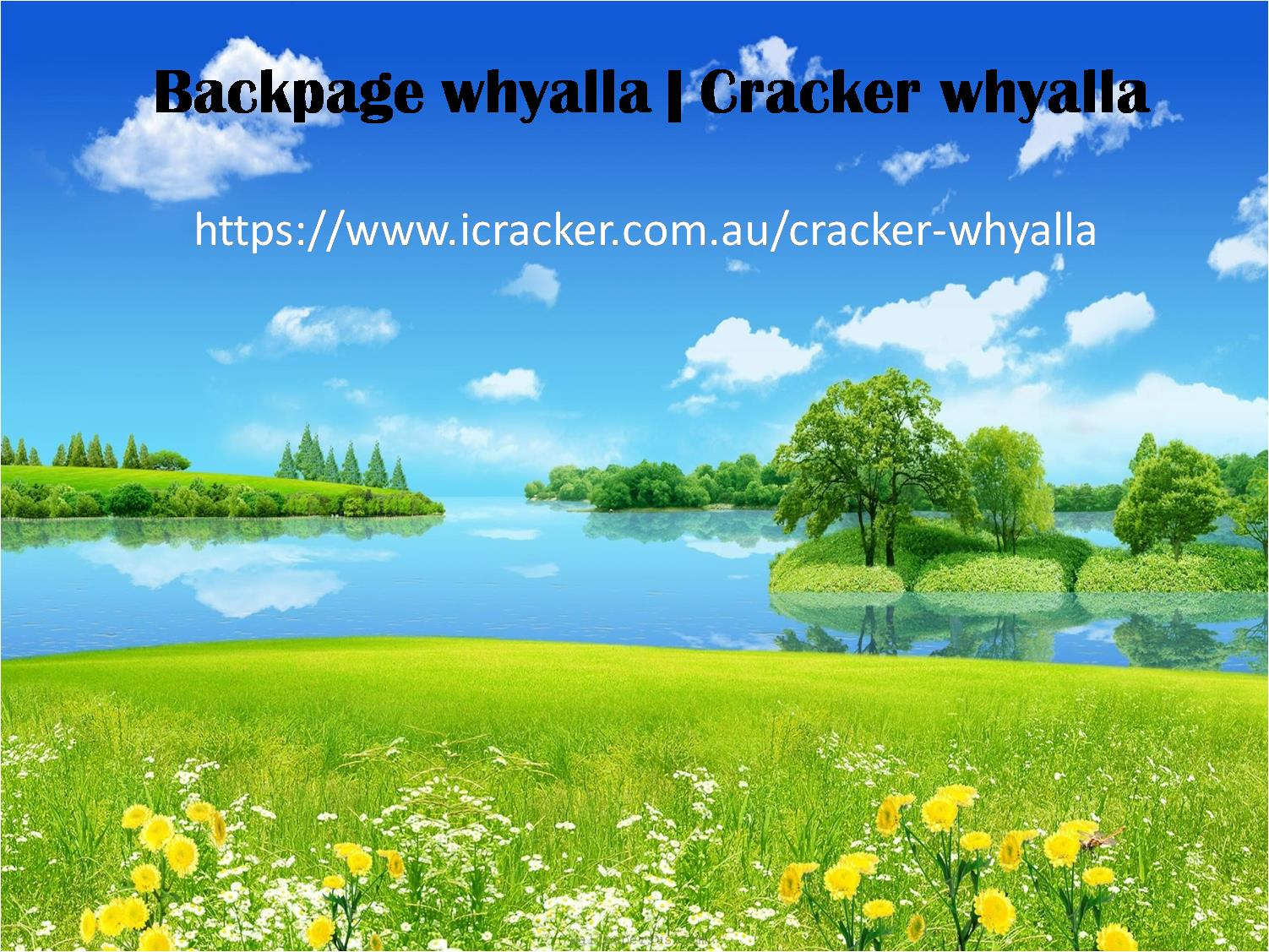 Backpage Whyalla | Cracker Whyalla