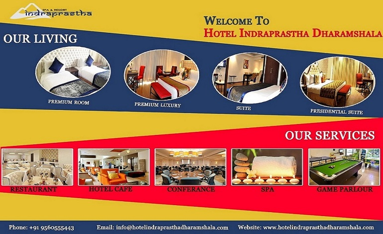 Online Hotel Booking Services in Dharamshala at Indraprastha Resort and Spa
