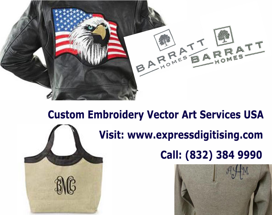 Embroidery Digitizing Services – Digitizing Services & Vector Art  – Expressdigitising.com