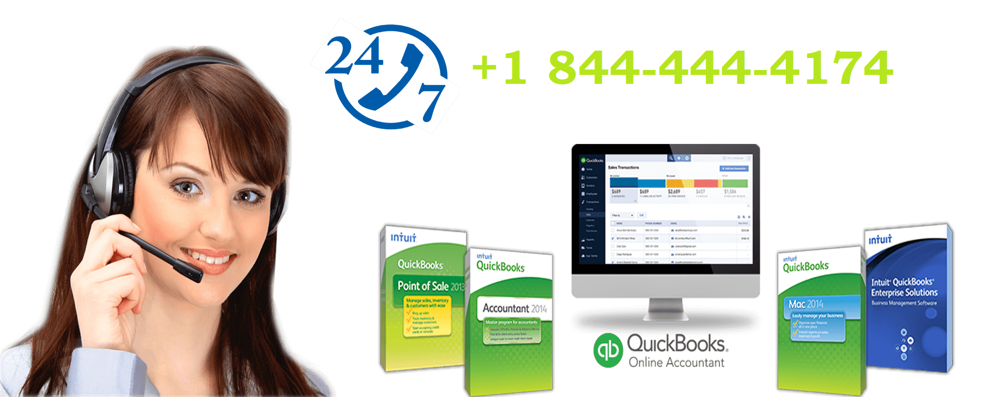 QuickBooks Payroll Support Phone number +1-844-444-4174