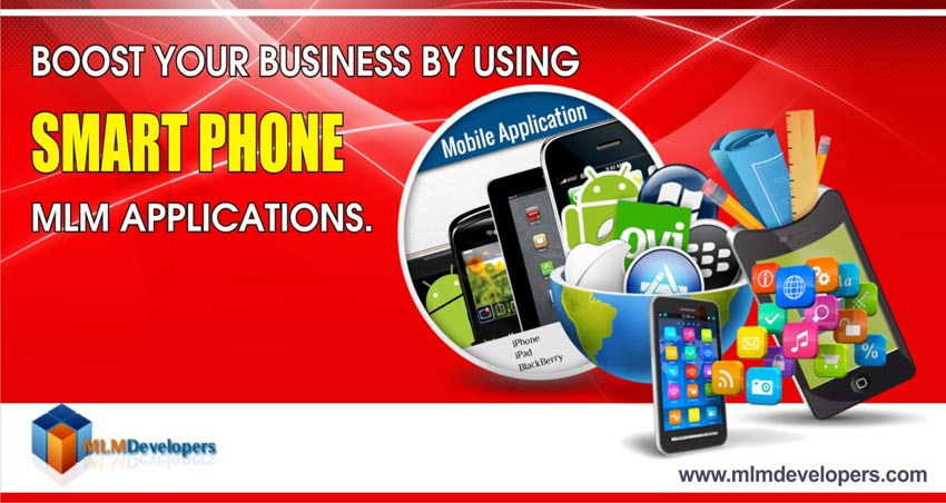 Boost Your Business by using smartphone MLM Applications