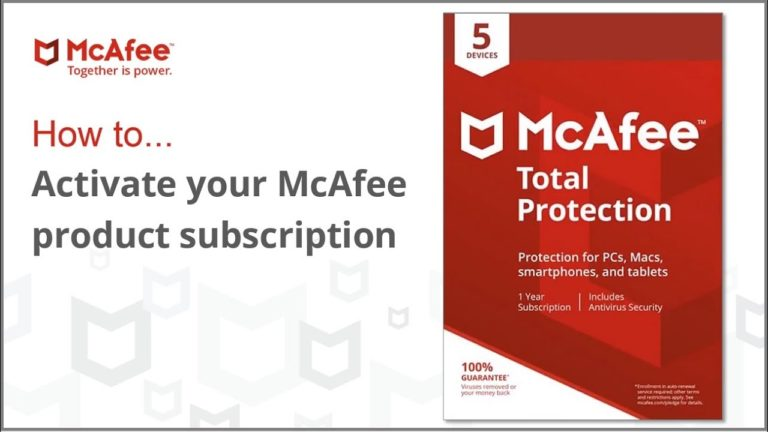 mcafee.com/activate –  Download & Install McAfee Activate