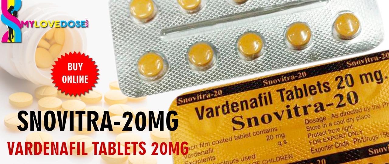 Buy vardenafil 20mg Tablet online