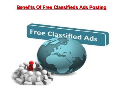 Benefits of Free Classified Ads