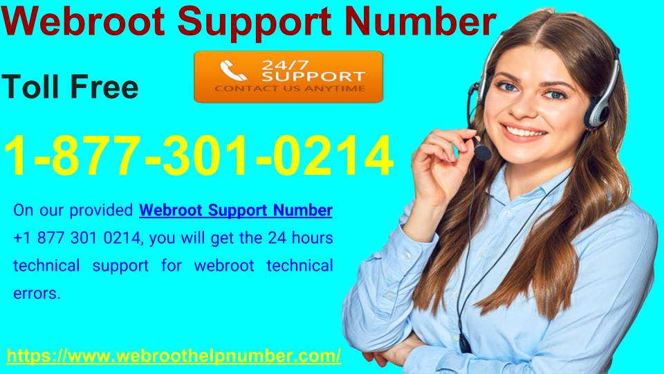 Webroot Support Number To Help The Webroot Users in Technical Bugs