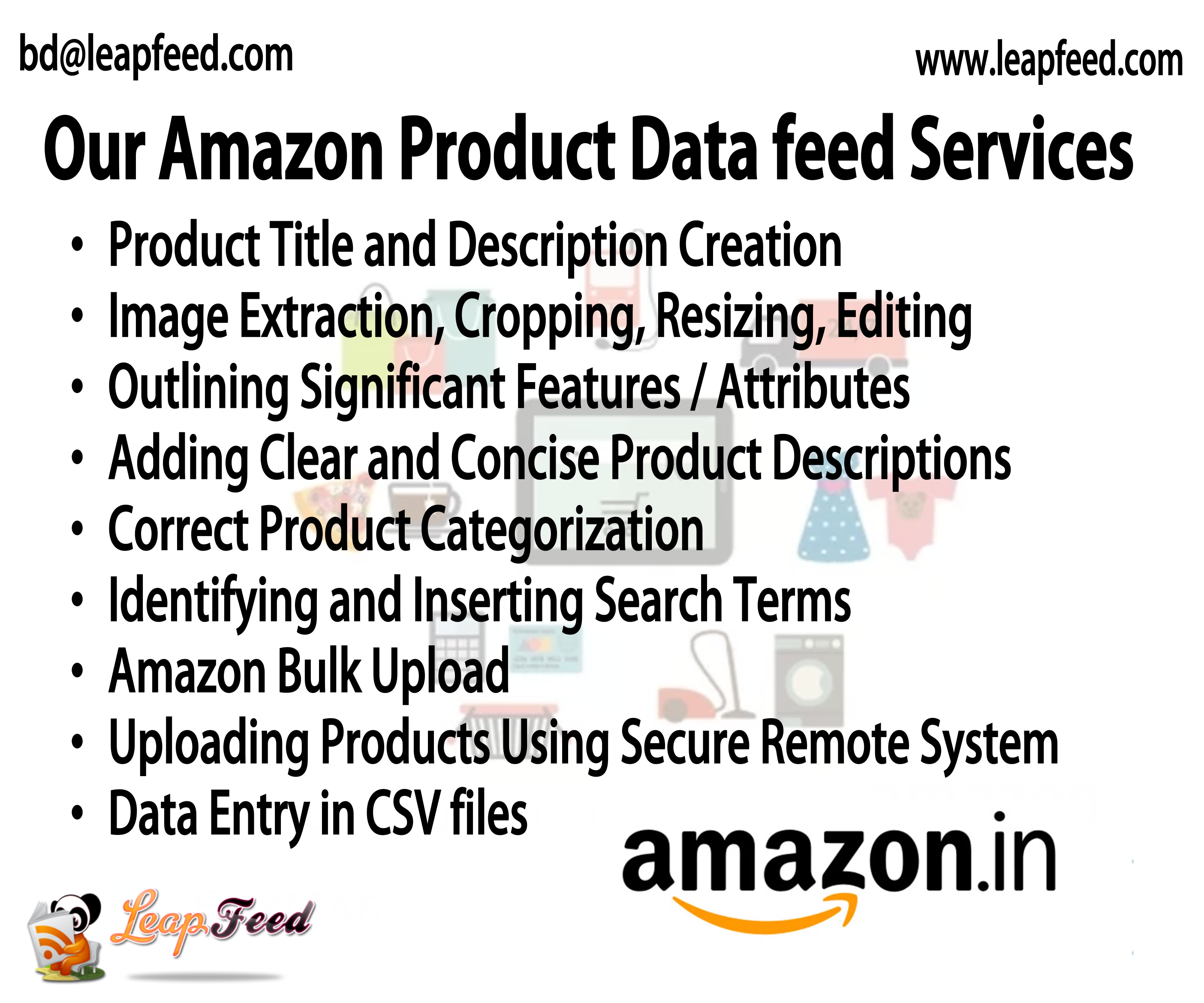 Amazon Product Data feed Services