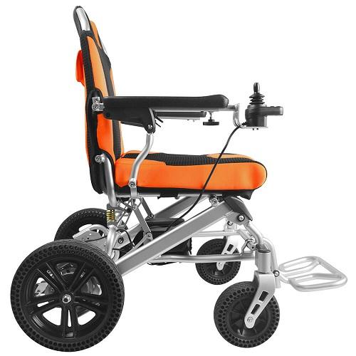 Brushless lightweight power wheelchair
