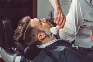 Barber in Williamsburg
