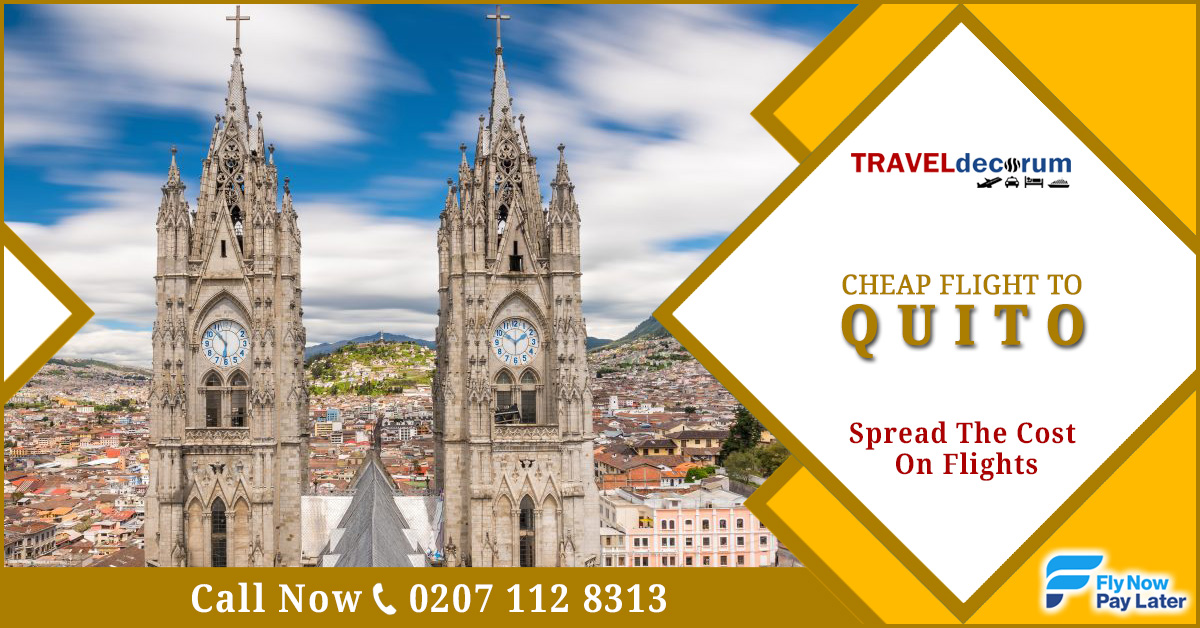 Flights London Quito & Quito flights