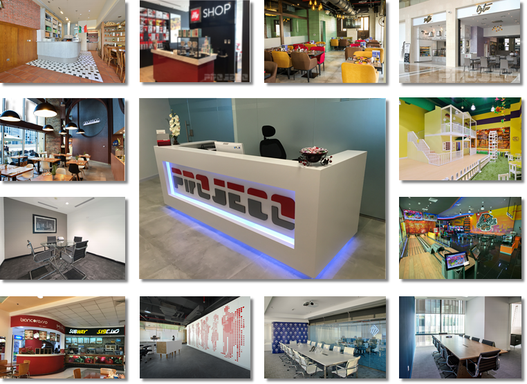 Projeco Contracting Interior Fit Out Dubai | Management & Staff