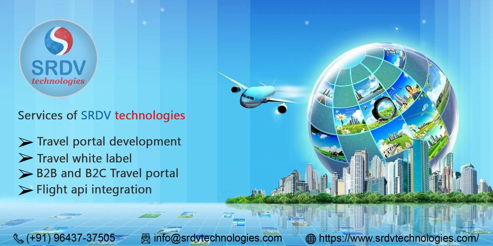 Best Travel Portal Solution BY SRDV TECHOLOGIES