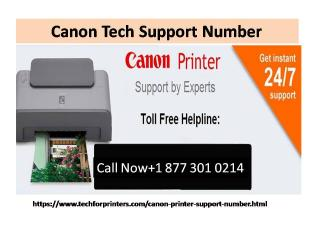 Check out the Canon Tech Support Number
