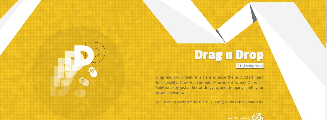 Cloudanalogy salesforce Pin Tags & Drag n Drop App