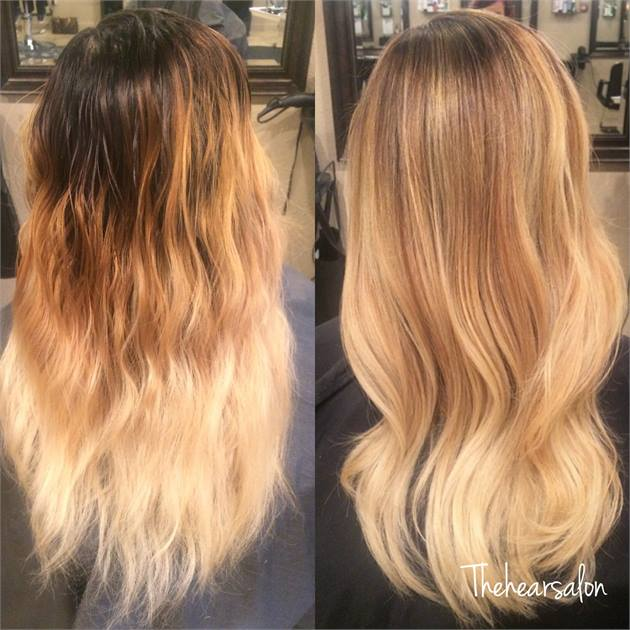 Double Process Blonde Hair Color Specialist in Denver and Colorado – Salons