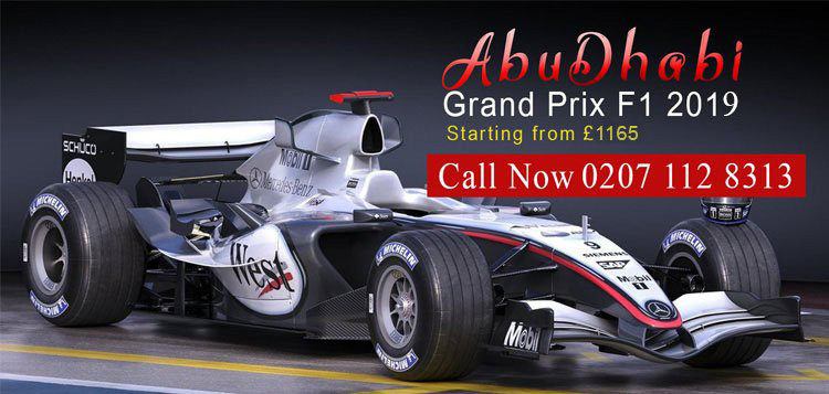 2019 Formula 1 Holiday, Travel & Tour Packages