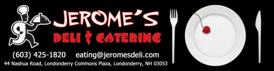 Explore great tasting food with the Jerome's.