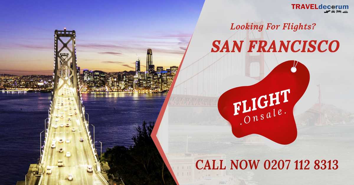 flights from greater glasgow to san francisco | Call now 0207-112-8313
