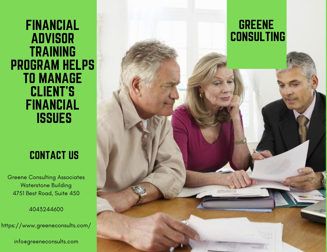 Financial Advisor Training Program Gives Enough Knowledge of Financial Industry