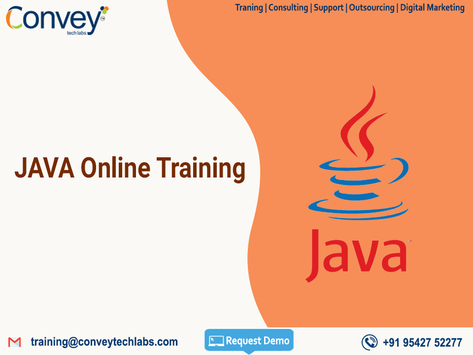 JAVA Online Training In USA | Convey Tech Labs