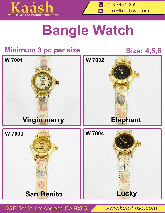 Latest Women Fashion Branded Bangle Watches By Kaashusa
