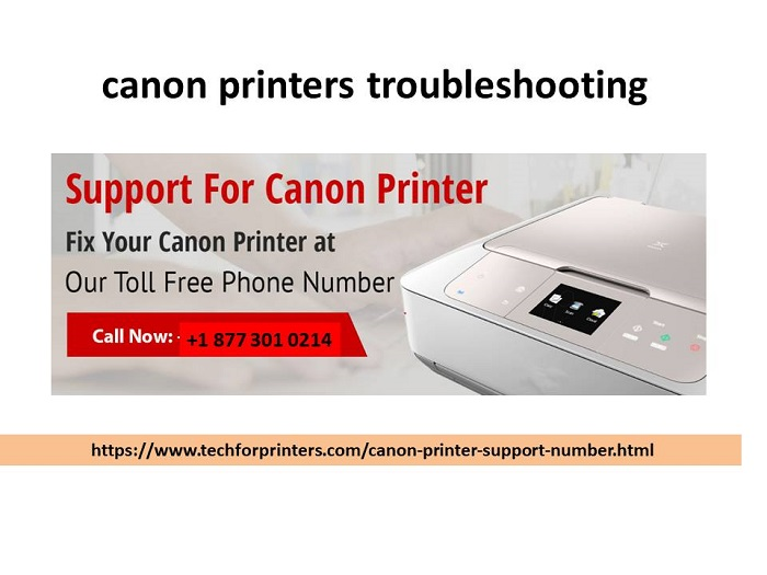 How to troubleshooting  Canon printers issue