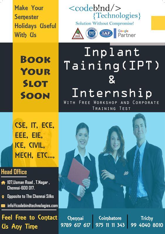internship in chennai