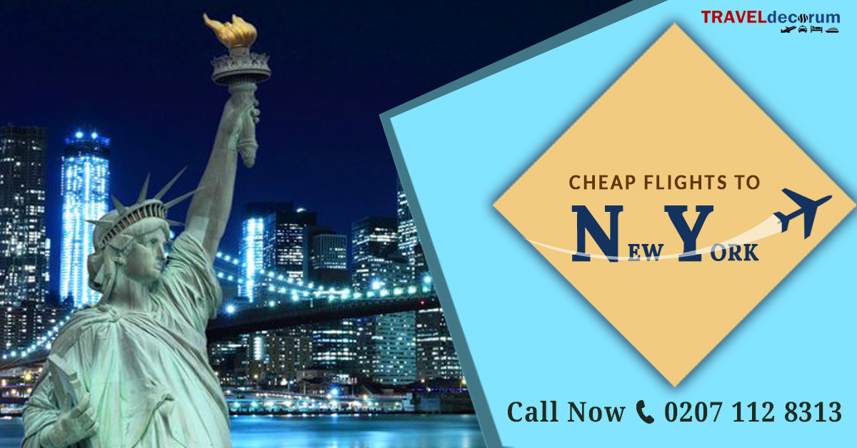 Find New York Flights from London and Cheap Flights UK To New York