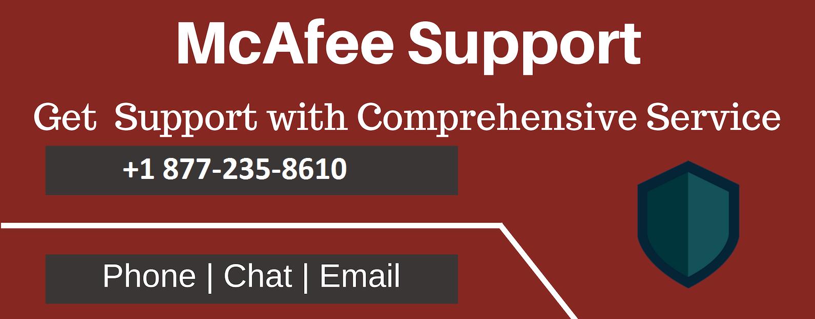 McAfee Helpline Number +1 877-235-8610