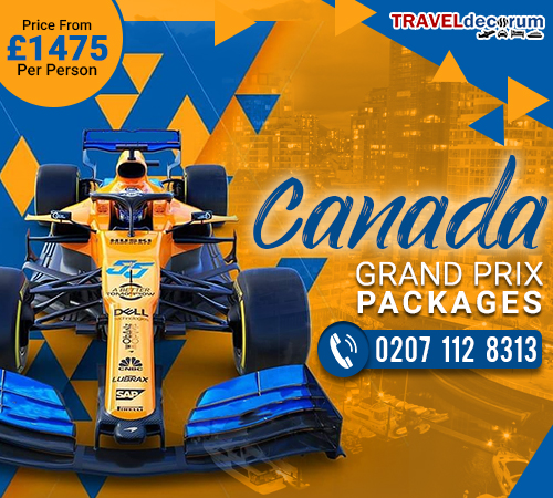 Hurry up to Get Exclusive Offers on the Forthcoming Canadian Grand Prix!