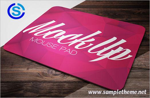 Free mouse pad mockups – Sampletheme