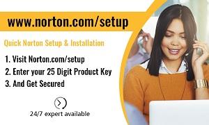 norton.com/setup – Activate Norton Antivirus on your computer