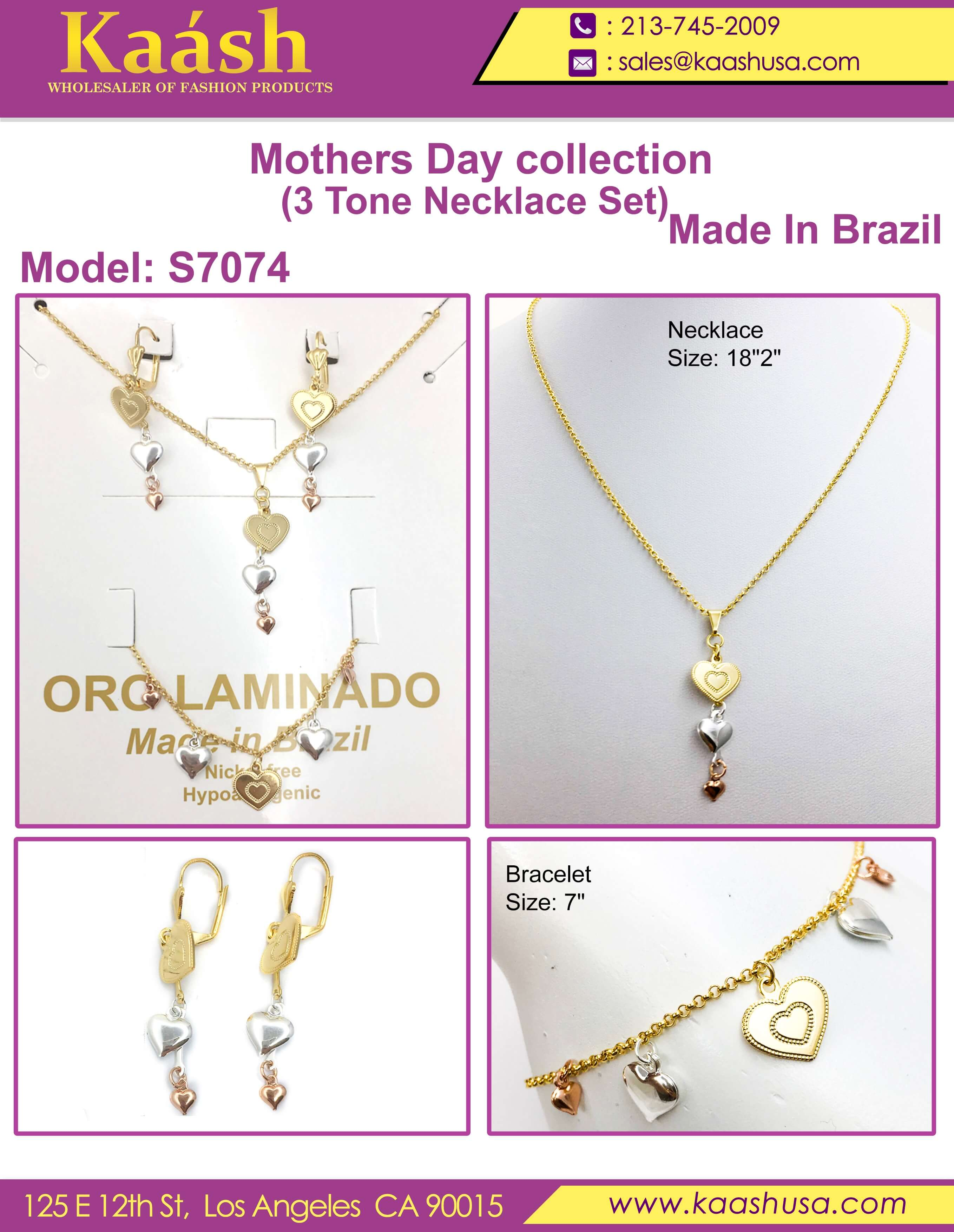 Beautiful Necklace Sets on Wholesale Price for Mother's Day