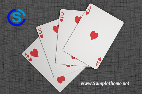 Playing Cards Mockup – Sampletheme