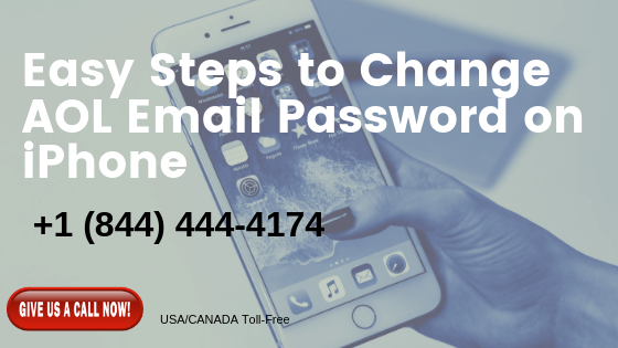Do you want to change the AOL email password on iPhone 6?