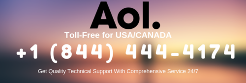 AOL Mail Customer Service Phone Number | 844.444.4174