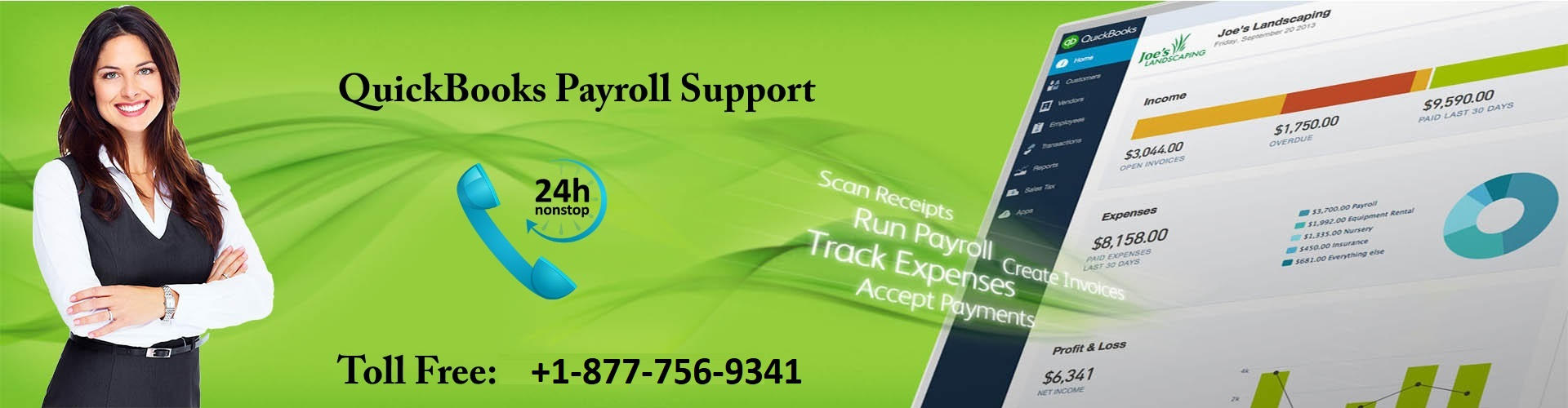 quickbooks support number 877-756-9341