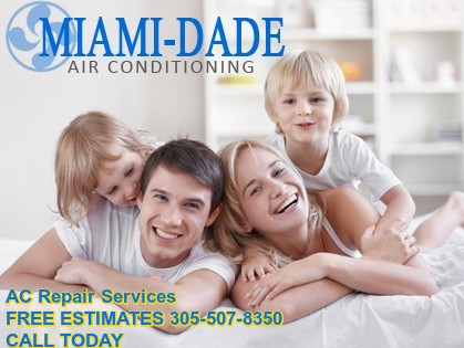 Make Summers Bearable with AC Repair Miami