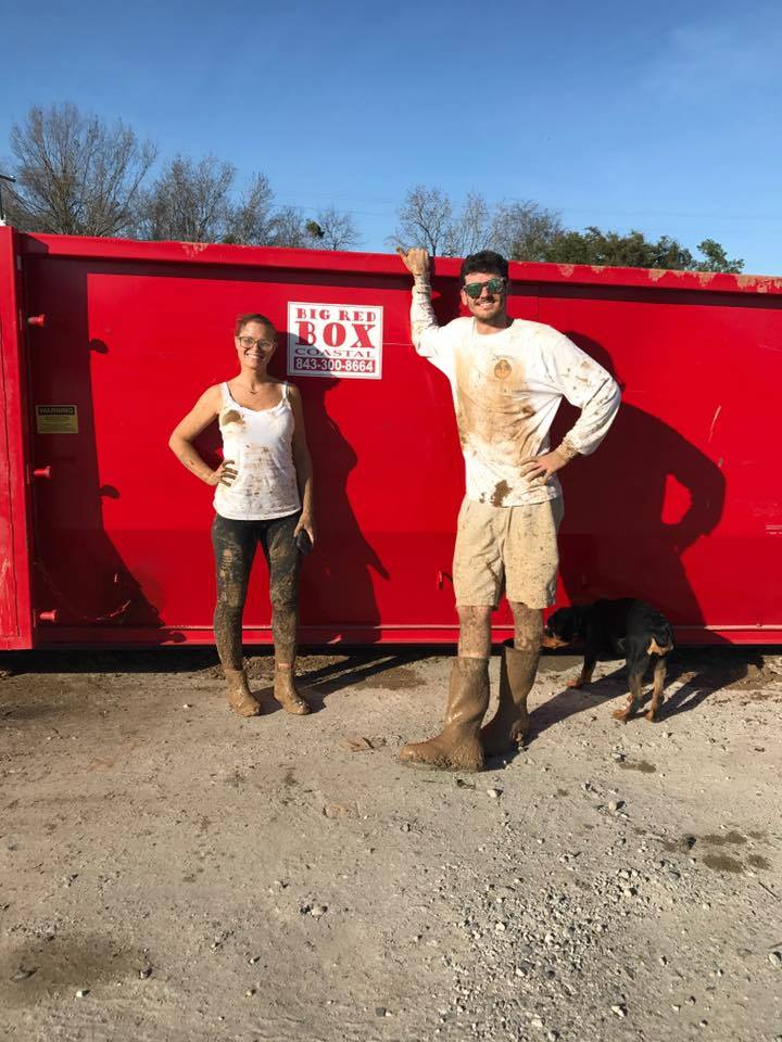 Keep renting dumpsters simple with the Big Red Box Coastal