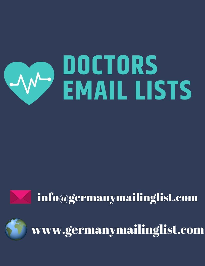 Healthcare Email Lists – Germanymailinglist