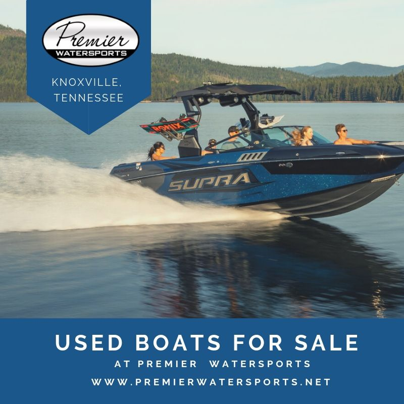 Premier Watersports introducing Used boats for sale in Knoxville