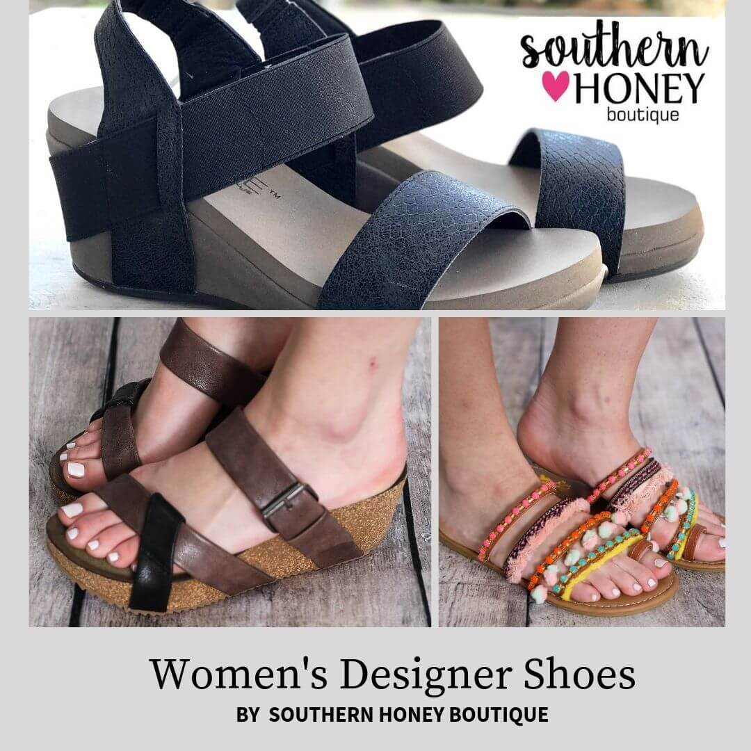 Avail cutting-edge Women's Designer Shoes from Southern Honey Boutique