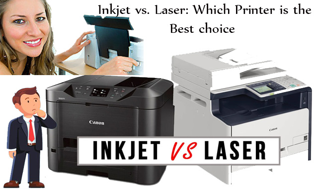 Inkjet vs. Laser: Which Printer is the best choice? By HP Printer Support Services
