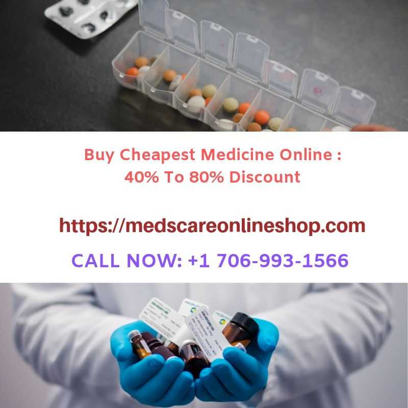 Buy Cheapest prescription medicine online upto 40% to 80% Discount