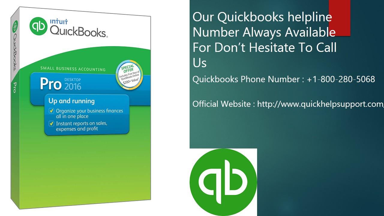 Quickbooks Customer Service Helpline Number